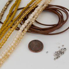 Bohemian multistrand beaded bracelets DIY tutorial