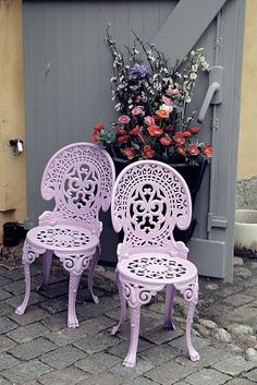 love these for a patio or garden