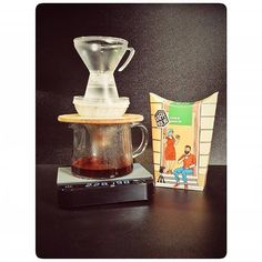 Lovely shot from KaffeBox member # @mjd.insta - The world coming together with brewing equipment beans and delivery :)  == KaffeBox member post == translated: Korean-Japanese duo with Norwegian accompaniment on an American foundation ;)  Koreańsko-japoński duet przy norweskim akompaniamencie na amerykańskich fundamentach ;) #theGabiMasterA #HarioV60 #KaffeBOX #talorjorgen #acaia #acaialunar #coffee #blackcoffee #dripcoffee #coffeesubscription #norvegiancoffe #norvegianroasters