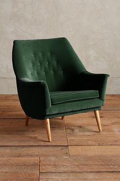 Velvet Rivona Chair - anthropologie.com