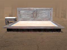 Boartfield Reclaimed Bed- John Cortese  Love the rustic