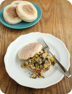 tofu and potato hash #vegetarian #vegan