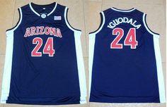 d5868b79e47 Wildcats #24 Andre Iguodala Navy Blue Basketball Stitched NCAA Jersey Cheap  | Wholesale Jerseys Pro