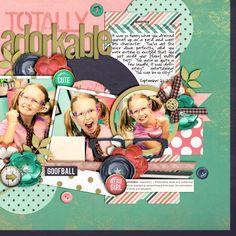Cindy's Layered Templates - Set 174 by Cindy Schneider  Adorkable by Jenn Barrette Spray and Stencil Alpha No. 2 by Jenn Barrette Glitte...