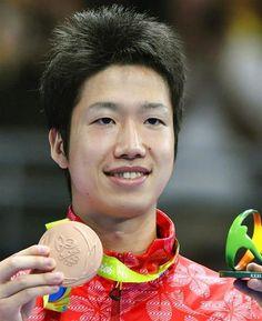 シングルスのメダル獲得は日本史上初!