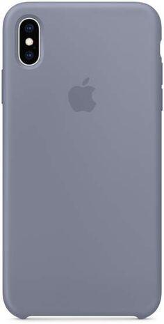 Apple iPhone XS Max Silicone Case - Lavender Gray 05393c6ad8549
