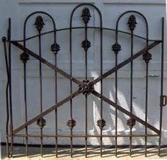 Antique Wrought Iron Garden Gates for Sale - Bing images