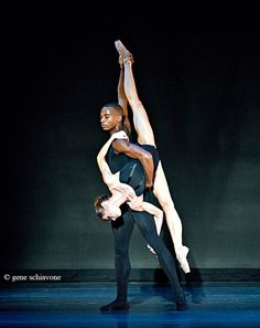 Melissa Hamilton and Eric Underwood (Royal Ballet) performing 'Lieder' at Indianapolis City Ballet Gala. Photo by Gene Schiavone