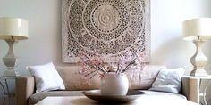 Simply Pure - handgesneden houtsnijwerk panelen / houten wandpanelen / houten wandkunst / houten wanddecoratie
