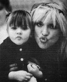 Courtney Love & frances