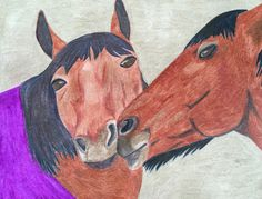 Horse love by me