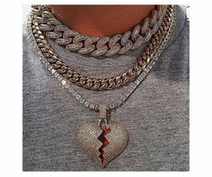 #jewelry #chain #heartbreak #necklace Ring Necklace, Chain, Rings, Jewelry, Fashion, Moda, Jewlery, Jewerly, Fashion Styles