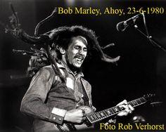 Bob Marley, Ahoy, Rotterdam,  23-6-1980, Foto Rob Verhorst