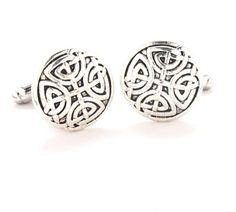 Celtic Cross Cufflinks Cuff Links Norse Viking Eternal Love Britain Ireland Norway Sweden