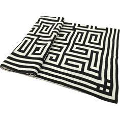 Chevron #details The perfect accessory! #rugs #design #blackandwhite | via @wayfair