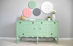 Pinterest Challege: Button Wall Art + Link Party — Decor and the Dog