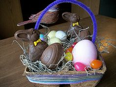 Kids Easter Basket Projects