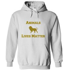 Animals Lives matter 1 T-Shirt Hoodie Sweatshirts oeo