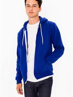 839ad95b2dd5 The Flex Fleece Zip Hoodie is a fitted zip-up hoodie with kangaroo pocket  and drawstring hood. Constructed from our extra soft and durable Flex  Fleece.