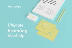 Ultimate Branding Mockup - Free PSD Sample