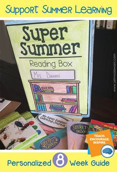 Support your students learning through the summer. Have each student bring in a cereal box and cover it with a learning contract, fill it with 8 weeks of activities and they are ready to go! Great end of year activity for grades k-6 - can be completely customized! OH and it has a journal to track all summer observations and learning! COOL!