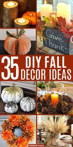 Thanksgiving Decorations, Halloween Decorations, Autumn Decorations, Thanksgiving Crafts, Diy Decoration, Seasonal Decor, Holiday Decor, Fall Projects, Diy Projects