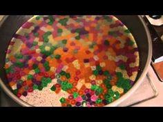 Melted Bead Suncatchers tutorial for make something monday - YouTube
