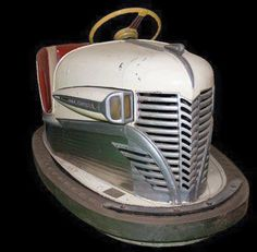 Lusse1941 Bumper Car White Green fr