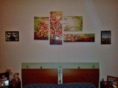 La nascita del colore  #colors #tree #albero #nature #abstract #paint #art #bed #fuxia