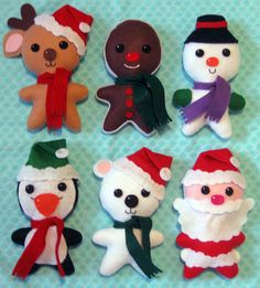 Xmas Plush Collection- IMPROVED! by Tygra Beaumont, via Flickr