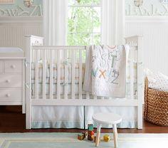 White Larkin Fixed Gate Design Ideas ~ http://www.lookmyhomes.com/amazing-theme-of-larkin-fixed-gate-sleight-crib/