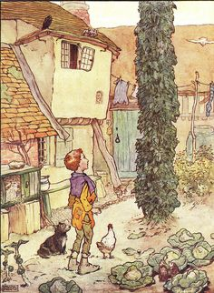 Jack & The Beanstalk  By Frank Adams