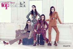 Filantropi's Harper's Bazaar group shot with Helena, Monica and Kate