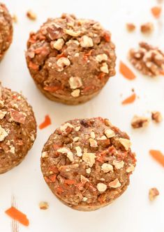 Packed with protein, cinnamon and natural sweetness, these ultra moist Carrot Quinoa Muffins will blow you away! Perfect for healthy breakfasts and snacks.