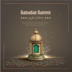 Islamic greetings ramadan kareem background with crescent moon and lantern Cherry Blossom Background, Pink And White Background, Gold Glitter Background, White And Pink Roses, Mubarak Ramadan, Islam Ramadan, Eid Card Designs, Happy Islamic New Year, Happy Muharram