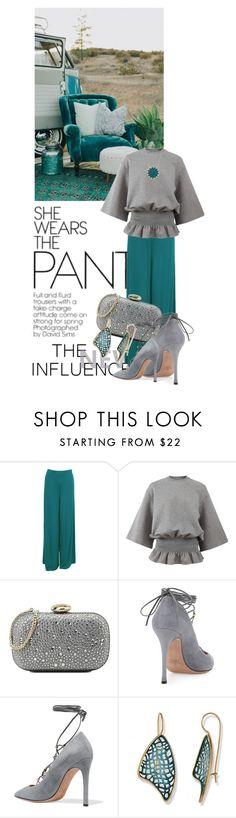 """Untitled #10656"" by queenrachietemplateaddict ❤ liked on Polyvore featuring Zimmermann, WearAll, STELLA McCARTNEY, Love Moschino, Valentino and House of Harlow 1960"