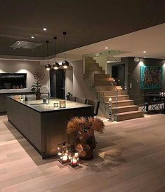 "10.2 mil Me gusta, 53 comentarios - Homes & Villas (@elegantlife) en Instagram: ""Beautiful Kitchen! By: @funkis_460"""