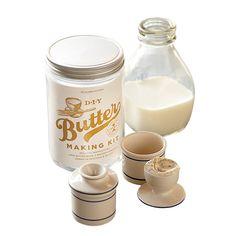 DIY butter making kit