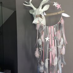 Etsy - Shop for handmade, vintage, custom, and unique gifts for everyone Bebe Shower, Boho Baby Shower, Dreamcatchers, Ideas Habitaciones, Diy And Crafts, Arts And Crafts, Dream Catcher Mobile, Unicorn Pictures, Rustic Baby