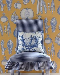 toile and gingham
