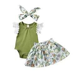 Unutiylo Newborn Baby Rompers for Boys Girls One-Piece Bodysuit Jumpsuit Unisex Summer Sleeveless Outfit