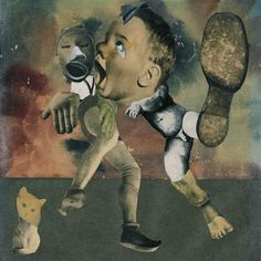 Hannah Höch, The Eternal Folk Dancers, 1933. Photomontage