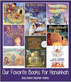 Boy Mama Teacher Mama | Our Favorite Books for Hanukkah