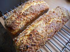 Bread Recipes, Cooking Recipes, Baked Goods, Banana Bread, Sweets, Baking, Cakes, Kitchen, Bakken