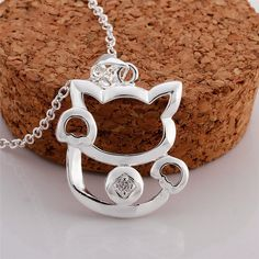 http://life-with-cats.myshopify.com/collections/collections/products/silver-plated-women-cat-pendant-necklace-chain