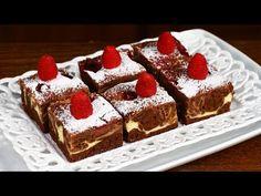 Negresă cu cheesecake și zmeură - YouTube No Cook Desserts, Tiramisu, Food And Drink, Cooking, Ethnic Recipes, Youtube, Pie, Kochen, Tiramisu Cake