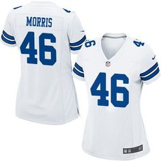 416ba2395 ... Nike Cowboys 46 Alfred Morris White Womens Stitched NFL Elite Jersey  Olive Alfred Morris Mens ...