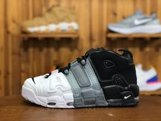 best authentic 8af71 0ef95 Nike Air More Uptempo Tri-Color Release Date  August 12th, 2017 Color