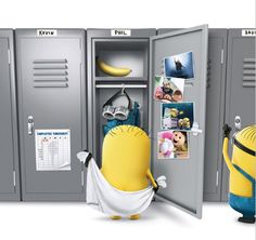 Universal has unleashed this new teaser poster for DESPICABLE ME 2 (watch trailer) and it shows us Minions in their locker room.