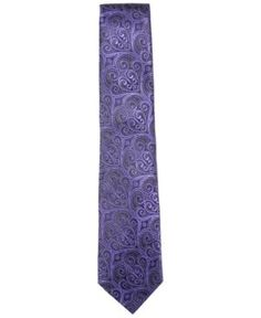 Countess Mara Men's Howard Paisley Tie - Purple